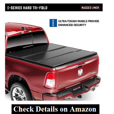 Rugged Liner E-Series Hard Folding Truck Bed Tonneau Cover