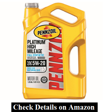 Pennzoil High Mileage Conventional 5W-20 Motor Oil