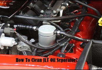 How To Clean JLT Oil Separator