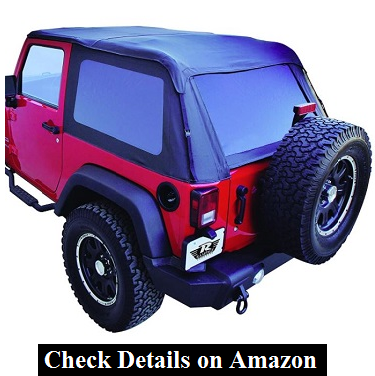 Rampage 139835 TrailView Fastback Soft Top