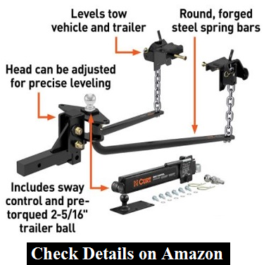 CURT 17063 Hitch with Sway Control