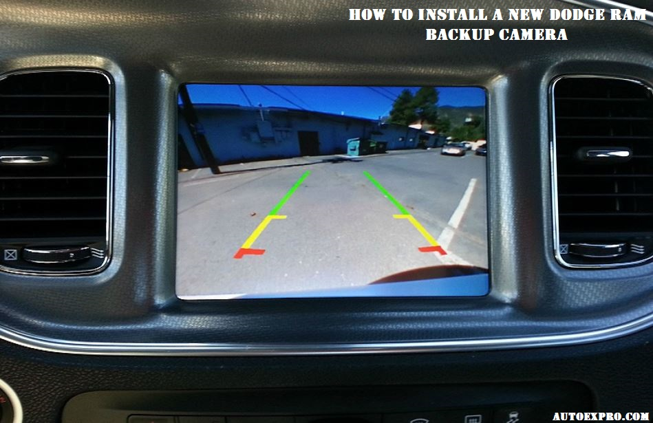 How To Install A New Dodge RAM Backup Camera
