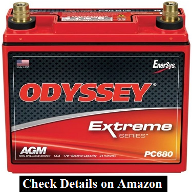 Odyssey PC680 Red Top Battery