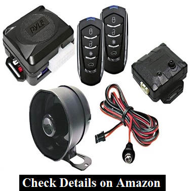 Pyle PWD701 4-Button Car Alarm for Vandalism