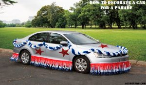 How to Decorate a Car for a Parade