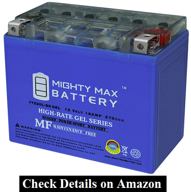 Mighty Max Battery YTX20L