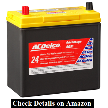ACDelco Gold B24R Hybrid Vehicle AGM Battery