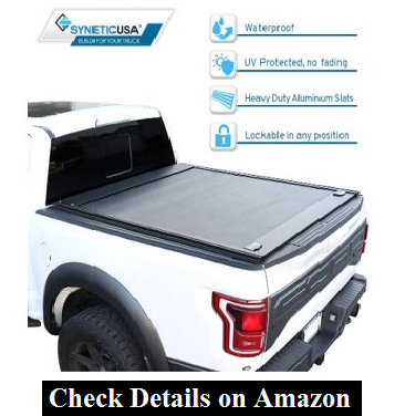 Syneticusa Aluminum Retractable truck bed cover