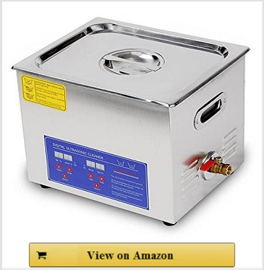 2.6 galon Ultrasonic Cleaner with Stainless Steel Basket
